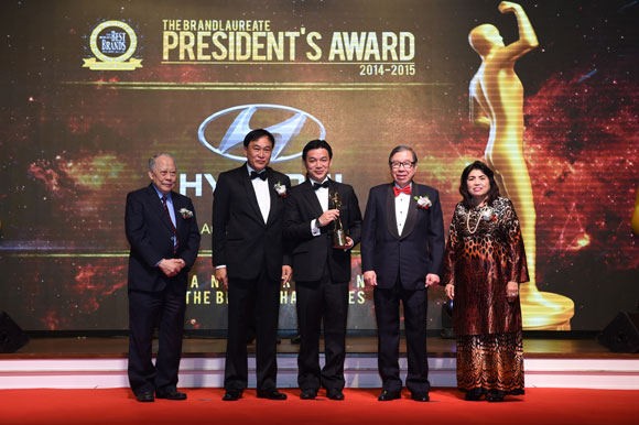 HSDM Conferred The BrandLaureate President's Award 2014-2015