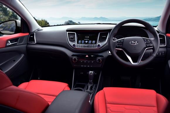 HYUNDAI'S Tucson Turbo 1.6L Turbo GDI - Interior