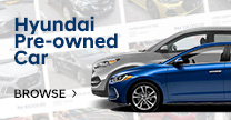 Hyundai Pre-owned Car