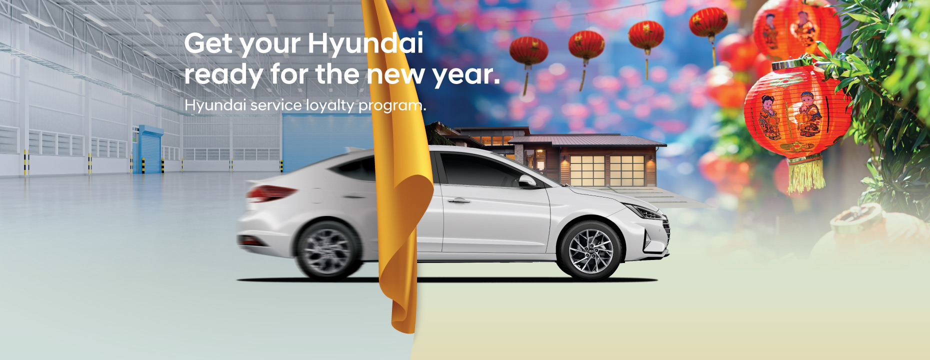 Hyundai service loyalty program | Get your Hyundai ready for the new year. Up to 20% off on selected parts* | 10% off on labour charges* | Free 20 points vehicle inspection. | Hyundai loyalty program is now open for vehicles of 4 years and above* Terms and conditions apply. Promotion period : 24 December 2020 - 28 February 2021.